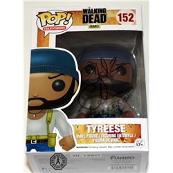 Walking Dead, The - Tyreese Funko Pop! Signed by Chad Coleman (Rare/Vaulted)
