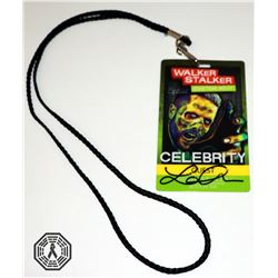 Walking Dead, The - WSC Badge Signed by Lauren Cohan, Austin Nichols