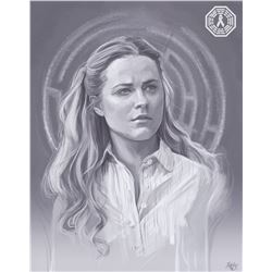Westworld Dolores Custom Digital Painting