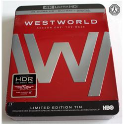 Westworld Season One: The Maze 4K Ultra HD/Blu-ray/Digital Set in Limited Ed. Tin