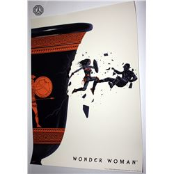 Wonder Woman Movie Limited Edition Screen Print