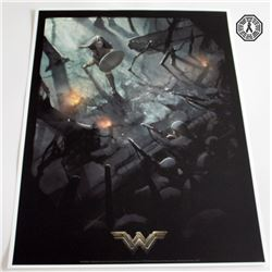 "Wonder Woman Movie ""No Man's Land"" Art Print (Limited Edition)"