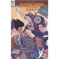 Wynonna Earp Comic Signed by Emily Andras