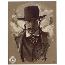 Wynonna Earp Doc Holliday Custom Digital Painting Signed by T. Rozon