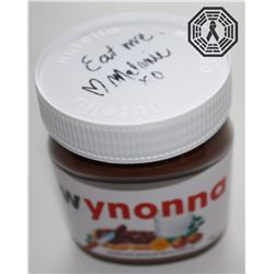 Wynonna Earp Jar of Wynonna Nutella Signed by Melanie Scrofano (Custom Labeled)