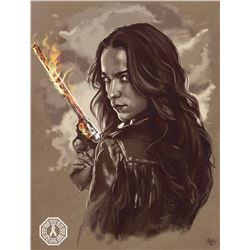Wynonna Earp Wynonna Custom Digital Painting