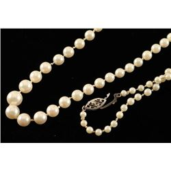 Beautiful Antique Pearl Necklace