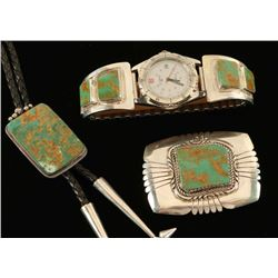 Mens Navajo Jewelry Set