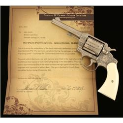 *Mike Dubber Engraved Colt Police Positive