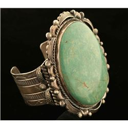 Ladies Green Turquoise Cuff