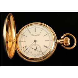 American Waltham Watch Co 14K Gold Pocket Watch