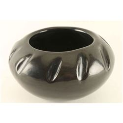 Santa Clara Blackware Bowl