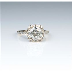 Brilliant 1.86 Carat Diamond Ring