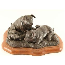 Fine Art Bronze by Cythnia Rigden