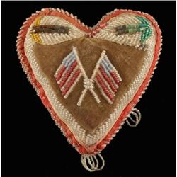 Arapaho Beaded Heart