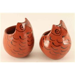 Lot of 2 Maricopa Pottery Owls