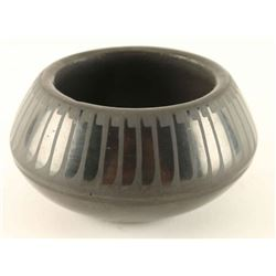 San Ildefonso Blackware Pot