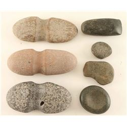 Lot of Prehistoric Stone Artifacts