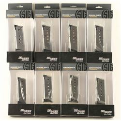 Lot of 8 Sig Sauer P220 Factory Mags