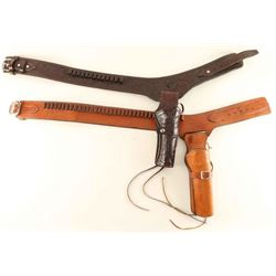 (2) Western Holster Rigs