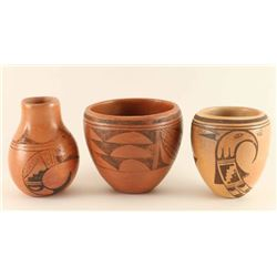 Lot of Vintage Hopi Pottery