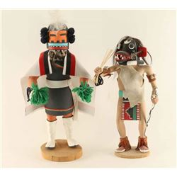 Lot of 2 Kachinas
