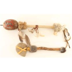 Lot of 2 Native American Items
