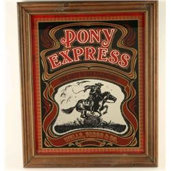 Pony Express Advertiser Mirror