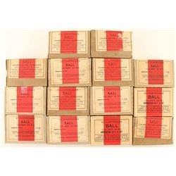 Lot of .30 M2 Ball Ammo