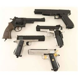 Lot of 5 Daisy BB Pistols