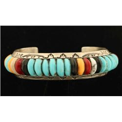 Colorful Navajo Cuff