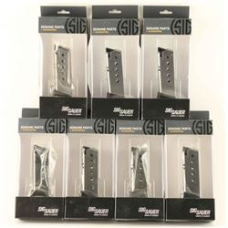 Lot of 7 Sig Sauer P220 Factory Mags