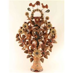 Mexican Tree of Life Candle Holder