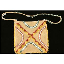 Plains Indian Small Leather Purse