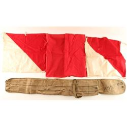 Maritime Signal Flags with Case