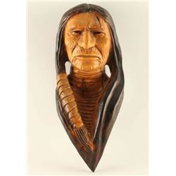 Wood Carving of Indian