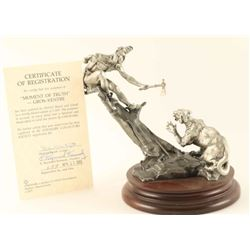 Limited Edition Chilmark Pewter Statue