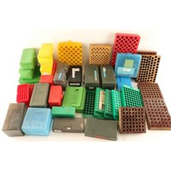 Lot of Assorted Plastic Ammo Boxes