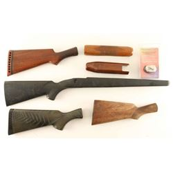 Boxed Lot of Stocks & Forends