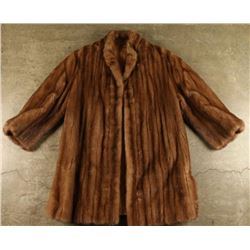 Ladies mid length Mink Coat