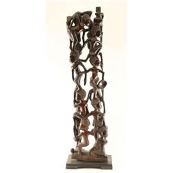 Ebony African Carving