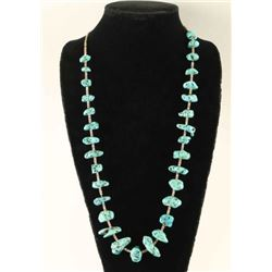 Natural Turquoise Stone Necklace