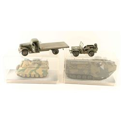 Lot of Toy Military Vehicles