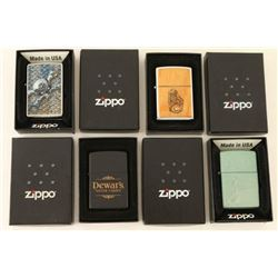 Lot of 4 High Quality Zippo Lighters