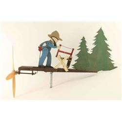 Vintage Wooden Weathervane