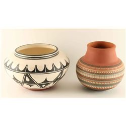 Lot of 2 Pots
