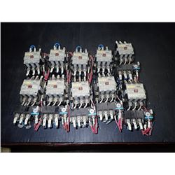 FUJI ELECTRIC SC-2N MAGNETIC CONTACTOR *LOT OF 10*