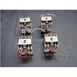 SQUARE D CLASS 8501 TYPE X RELAY SERIES A *LOT OF 4*