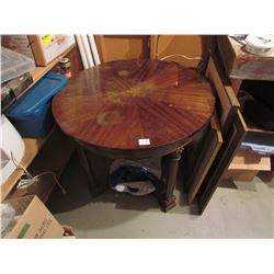 3' round antique table