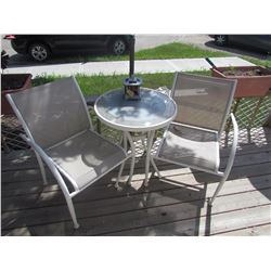 Patio Set (table, 2 chairs)